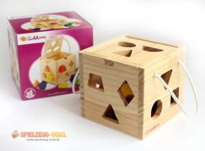 Spielzeug Holzsteckwuerfel
