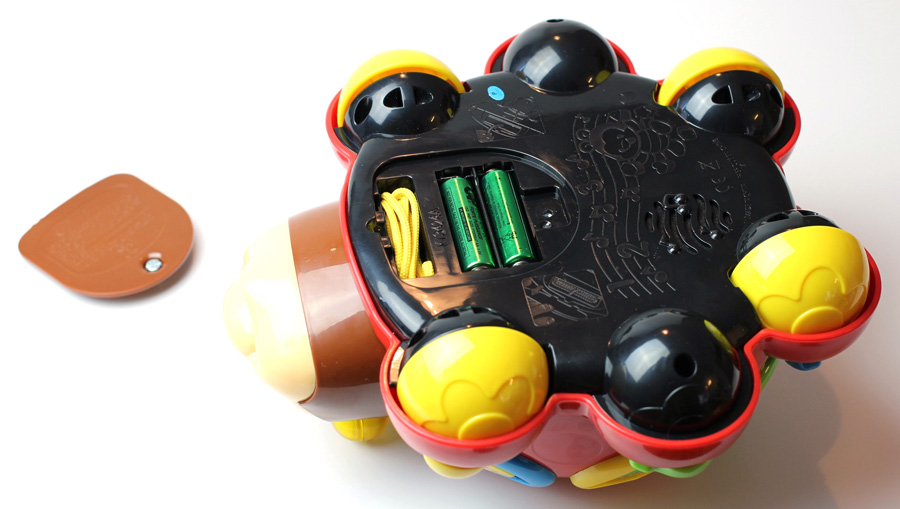 Lernkäfer Batteriefach
