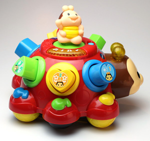 Spielzeug Lernkäfer mit Aufsteckformen