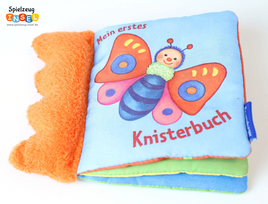 Spielzeug Knisterbuch Front