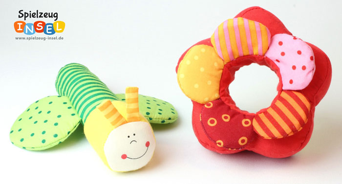 Spielzeug Fidelia Schmetterling und Blume