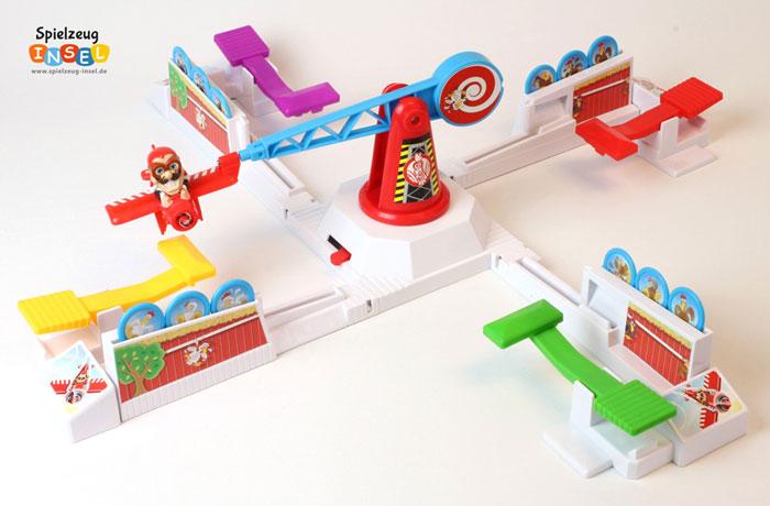 Spielzeug Looping Louie aufgebaut