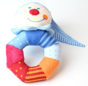 Spielzeug Greifling Kasper Stoffe