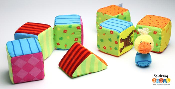 Spielzeug empfehlung weiche bauwürfel für babys