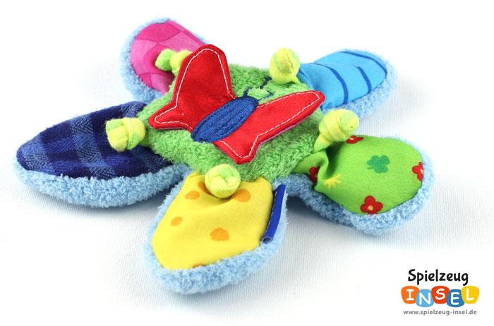 Knisterspielzeug lieben Babys