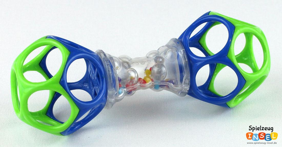 Spielzeug empfehlung oball rasselball und shaker für babys