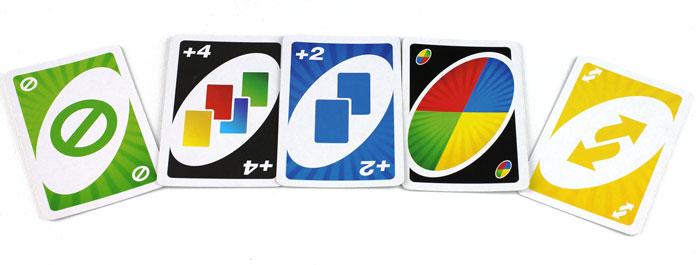 Uno 5 Aktionskarten