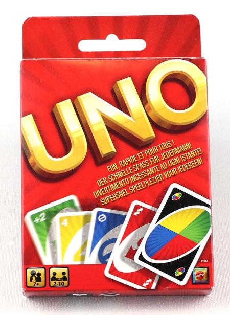 Uno Kartenspiel von Mattel