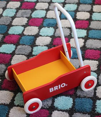 brio lauflernwagen zusammengebaut